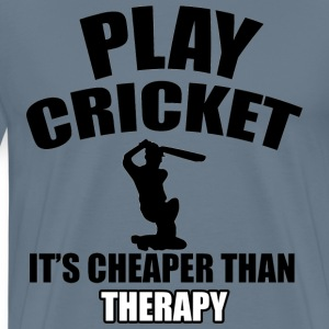cricket design - Men's Premium T-Shirt