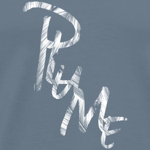 1704 dD Plume Blanc - Men's Premium T-Shirt