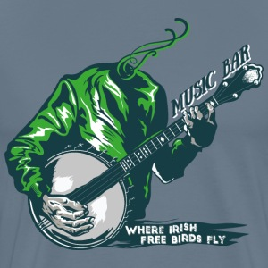 Where irish free birds fly music bar - Men's Premium T-Shirt