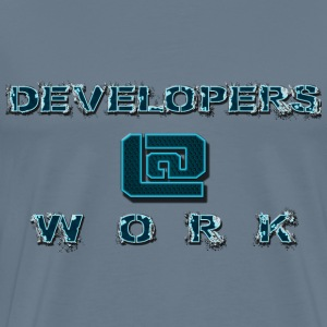 DEVELOPERS@WORK - Men's Premium T-Shirt