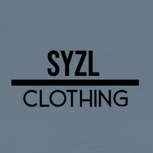SYZL Clothing Text Black - Men's Premium T-Shirt