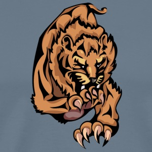 wildest_lion_color - Men's Premium T-Shirt