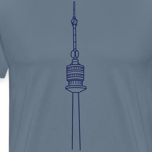 Danube Tower Vienna - Men's Premium T-Shirt