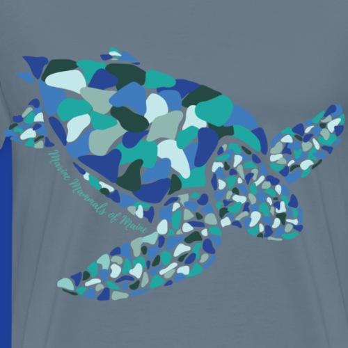 Seaglass Series-Sea Turtle - Men's Premium T-Shirt