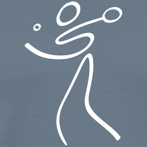 Table Tennis Pictogram - Men's Premium T-Shirt