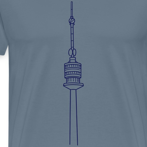 Danube Tower Vienna - Men's Premium T-Shirt