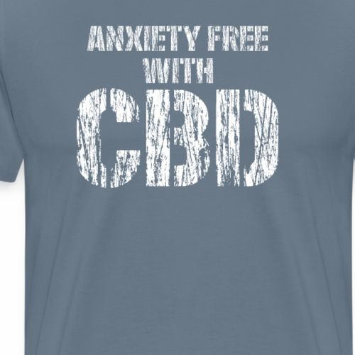 anxiety free - Men's Premium T-Shirt