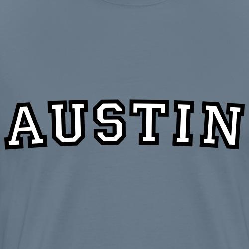 Austin College Style Rounded - Men's Premium T-Shirt