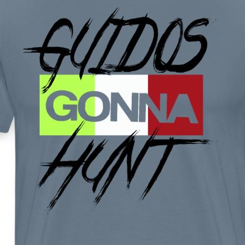 GUIDOS GONNA HUNT Proud Italalian Team Italian USA - Men's Premium T-Shirt