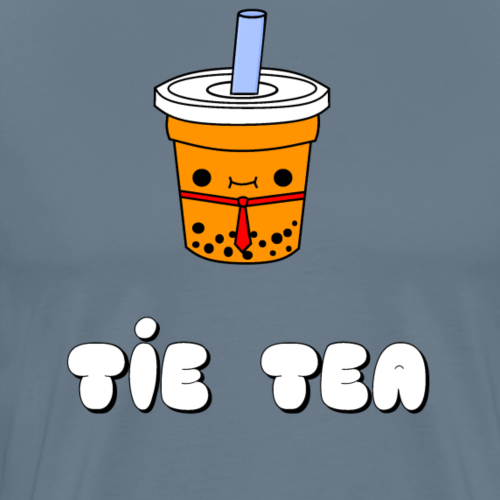 Tie Tea - Men's Premium T-Shirt