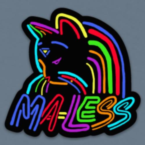 Small Ma-less Logo - Men's Premium T-Shirt