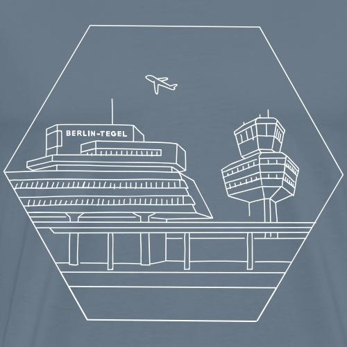 Airport Tegel in Berlin - Men's Premium T-Shirt