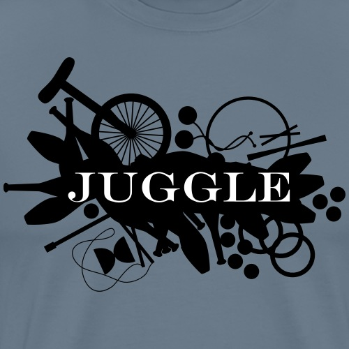 Juggle Splat - Men's Premium T-Shirt