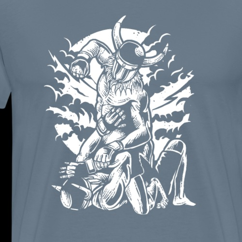 Viking MMA Fighter - Men's Premium T-Shirt