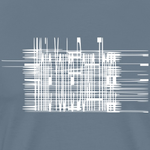 While You're Down There Tilt-to-Read - Men's Premium T-Shirt
