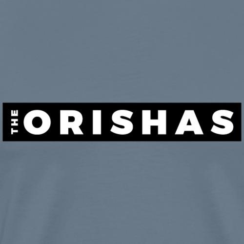 The Orishas (White Letters/Black Border) - Men's Premium T-Shirt