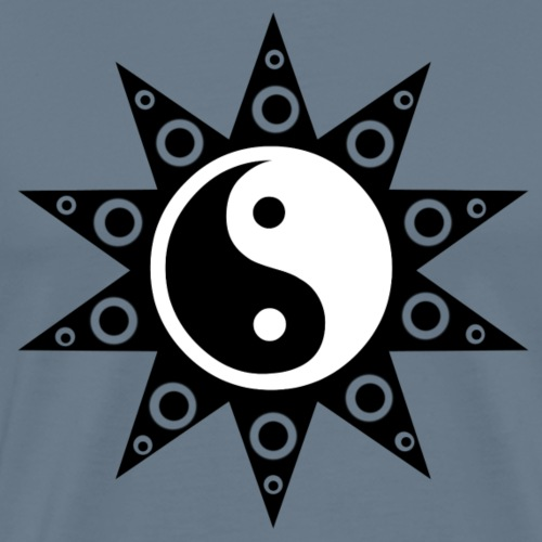 Ying Yang Sun - Men's Premium T-Shirt