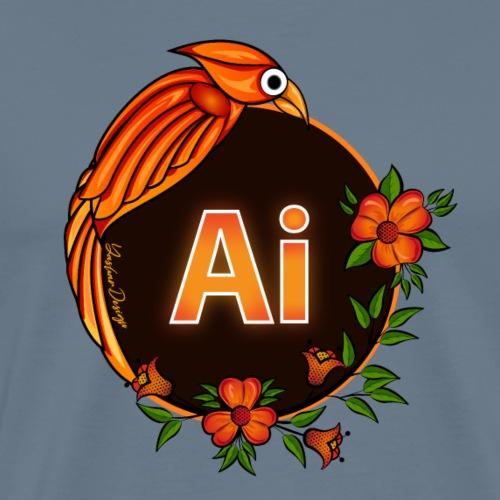 Adobe Illustrator Logo 2021 - Men's Premium T-Shirt