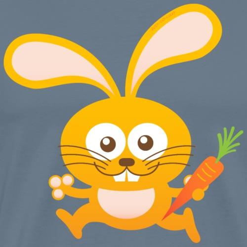 Smiling Little Bunny - Men's Premium T-Shirt