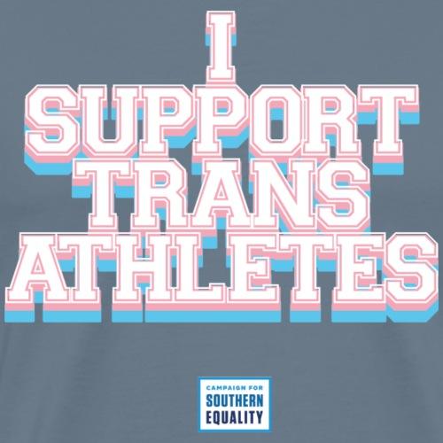 I SUPPORT TRANS ATHLETES - Men's Premium T-Shirt
