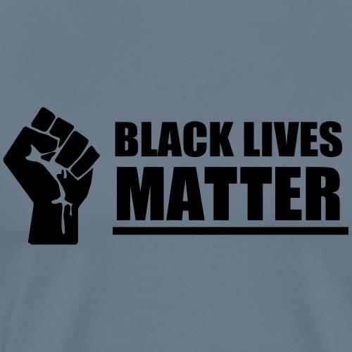 Black Lives Matter Black Power Fist - Men's Premium T-Shirt