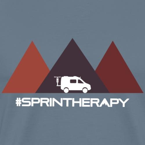 Three Brown Mountains - Men's Premium T-Shirt