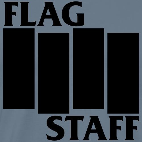FLAG STAFFFundraiser punk rock logo - Men's Premium T-Shirt