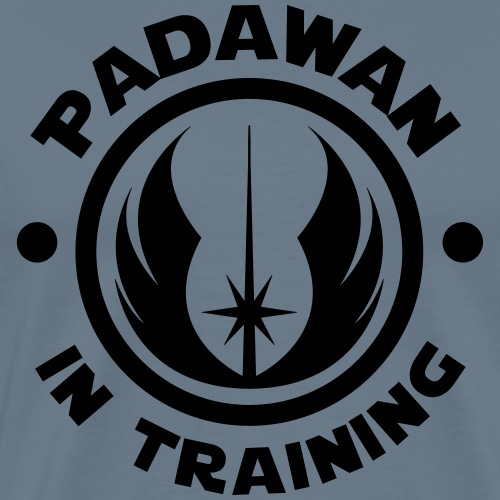 Padawan in training - Men's Premium T-Shirt