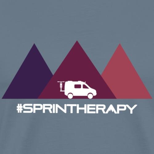 Three Violet Mountains - Men's Premium T-Shirt