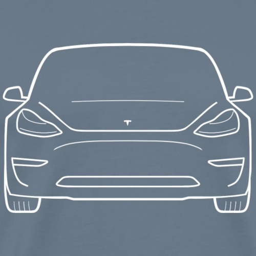 Tesla Model 3 - Men's Premium T-Shirt