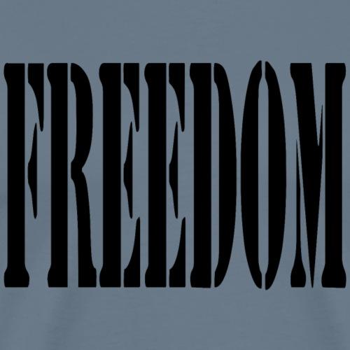 Freedom Logo - Men's Premium T-Shirt