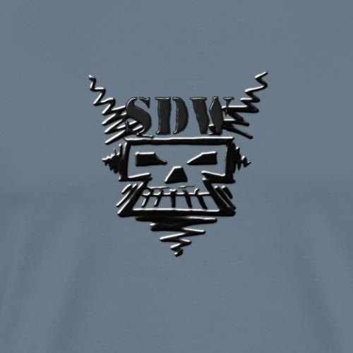 SDW Skull Small - Men's Premium T-Shirt