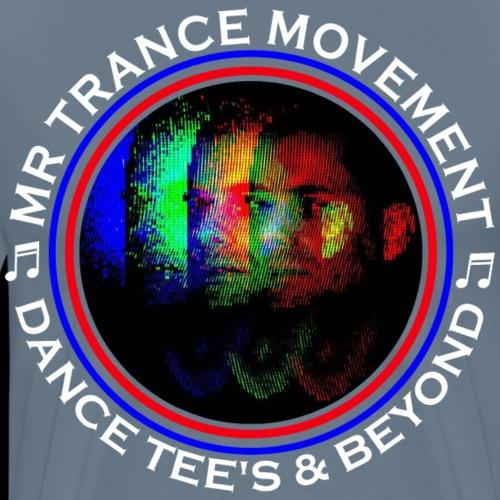 Mr Trance Movement Dance Tees Logo Tee - Men's Premium T-Shirt