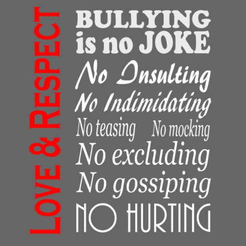 Bullying is no Joke - Men's Premium T-Shirt