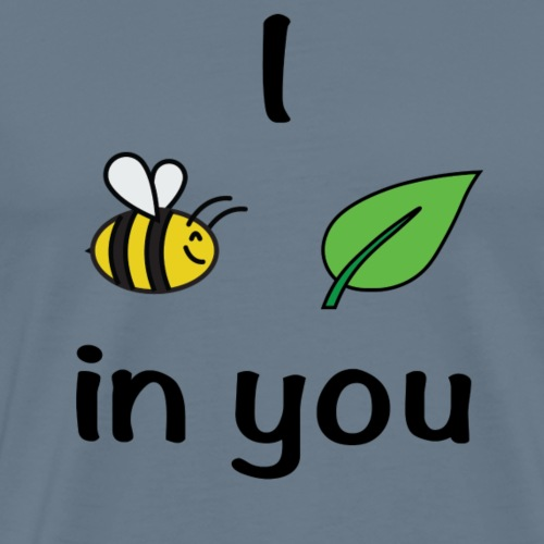 Bee Leaf (believe) - Men's Premium T-Shirt