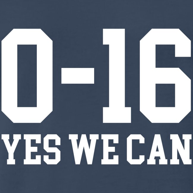 Detroit Lions 0 16 Yes We Can