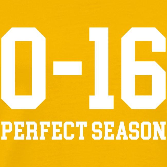 Detroit Lions 0 16 Perfect Season
