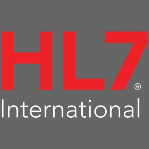 HL7 International Logo - Reverse - Men's Premium T-Shirt