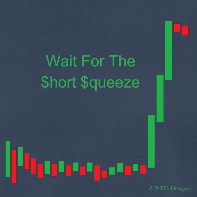 Wait for the short squeeze