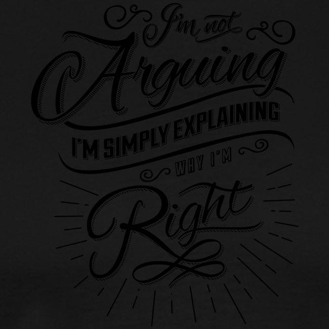 Im not arguing.
