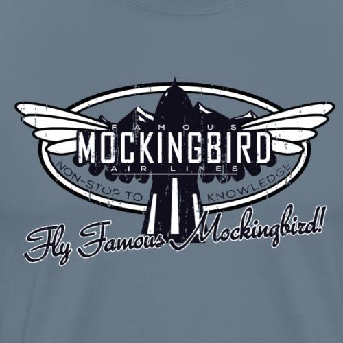 Mockingbird Airlines - Men's Premium T-Shirt