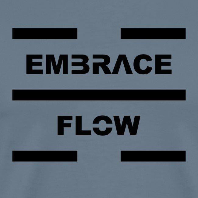 Embrace Flow Black Letters