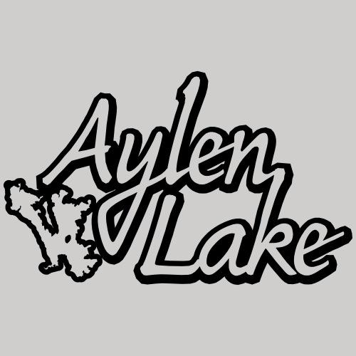 Aylen Lake_outlines - Men's Premium T-Shirt