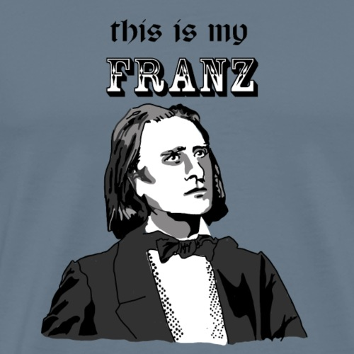 This is my Franz This is my Bach - Men's Premium T-Shirt