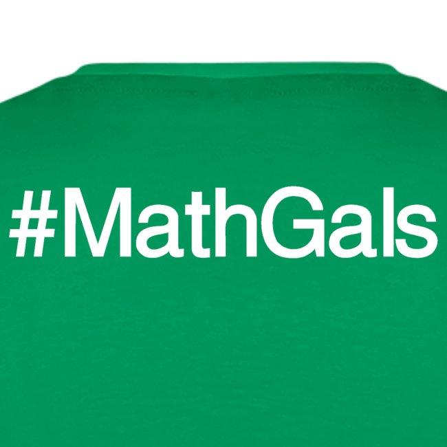 Math Gals OG w/ #MathGals hashtag