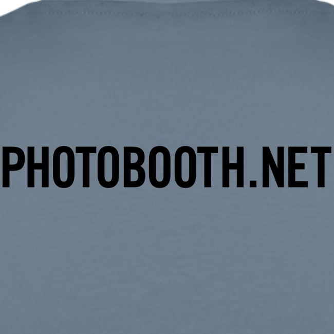 Photobooth.net T-Shirt with Logo and Name
