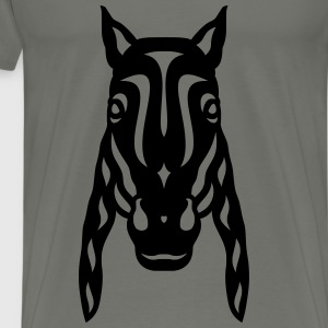 Horse face Rick - Men's Premium T-Shirt