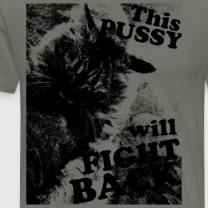 catfight - Men's Premium T-Shirt