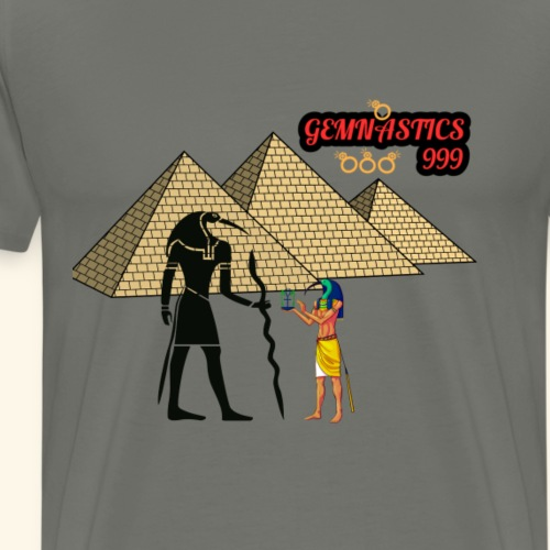 Thoth and the shadow self - Men's Premium T-Shirt
