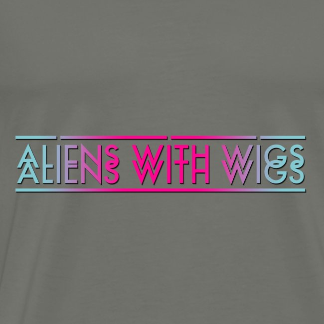 ALIENS WITH WIGS - Logo